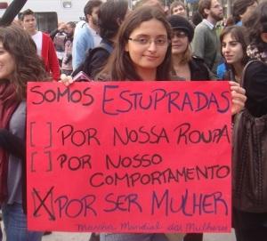 Marcha das Vadias reafirma os protestos das mulheres contra o machismo e a violência