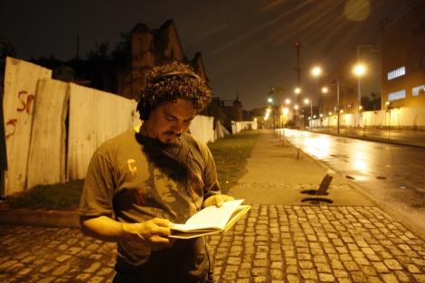 O Músico Moésio Castro. Foto: Cristiano magalhães