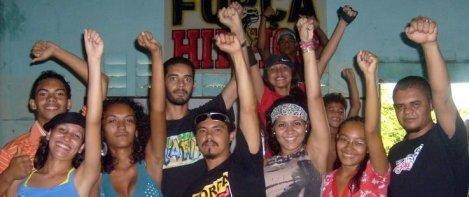 Encontro da Força Hip Hop na Tabebas Posse em Fortaleza - CE.